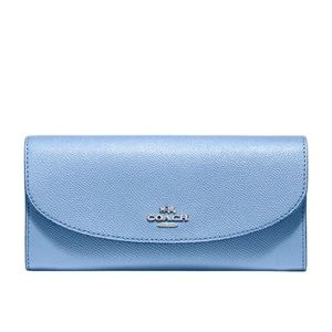 Coach Leather Slim Envelope Wallet